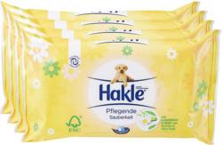 Hakle feuchte Toilettentücher Pflegende Sauberkeit, Kamille & Aloe Vera, 4 x 42 Tücher