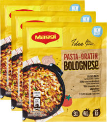 Maggi Mix Gewürzmischung für Pasta-Gratin Bolognese, 3 x 57 g