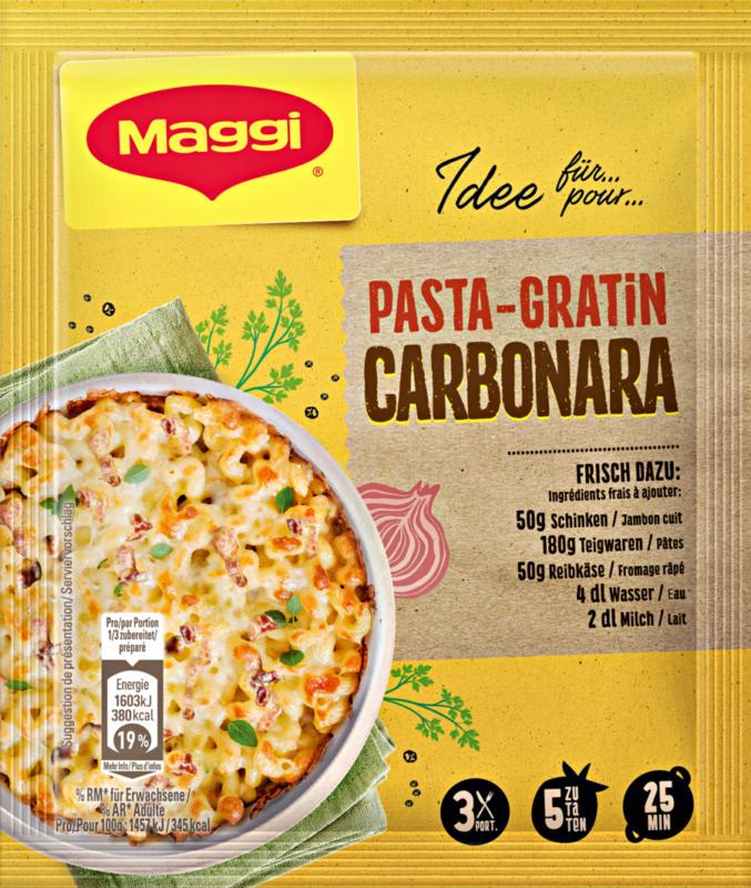 Maggi Mix, Pasta-Gratin Carbonara, 38 g