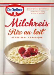 Riz au lait Dr. Oetker , classique, 3 x 125 g