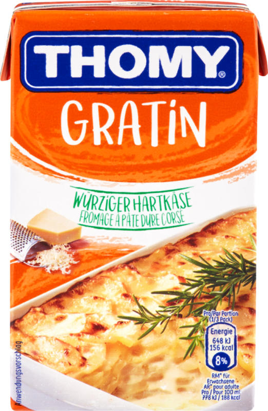 Sauce Gratin Thomy, 250 ml