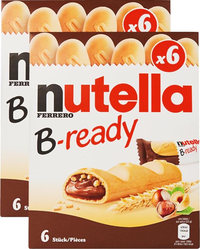 Ferrero Nutella Snack B-ready, 2 x 132 g