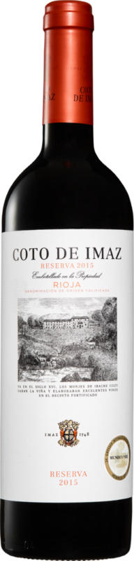 Coto de Imaz Reserva DOCa Rioja, 2015/2016, Rioja, Spanien, 75 cl