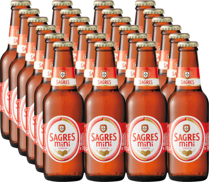 Bière Sagres, 24 x 25 cl