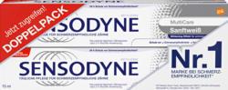 Dentifrice Multicare Sensodyne, Soin Blancheur, 2 x 75 ml