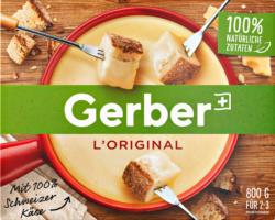 Gerber Fondue L'Original, fixfertig, 2 Packungen à 2 x 400 g