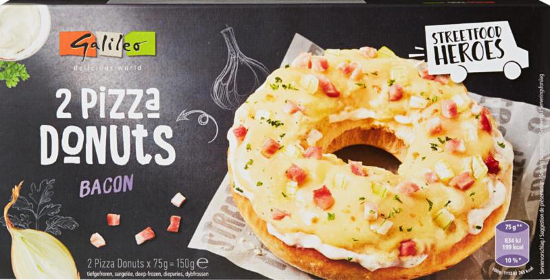 Galileo Pizza-Donuts Speck, 150 g