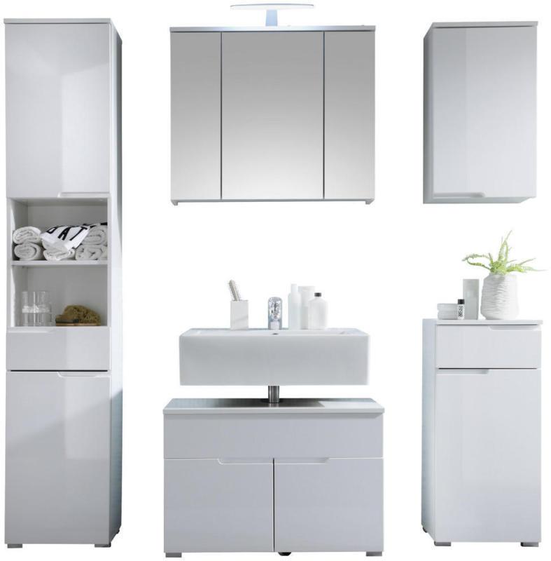 Badezimmer 5-teilig inkl. Bel. 160 cm