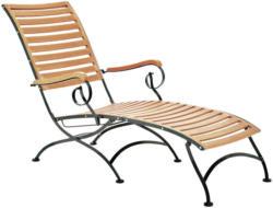 Garten-Relaxliege 65/89/137 cm