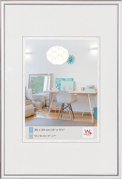 WALTHER New Lifestyle (40x50 cm, Silber)