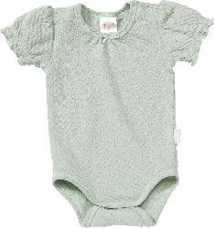 PUSBLU Baby Body, Gr. 86/92, in Bio-Baumwolle, grün