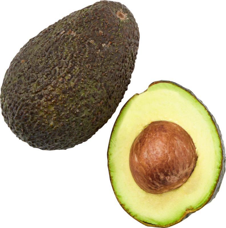 Avocado Hass, maturo, provenienza indicata sull'etichetta, al pezzo