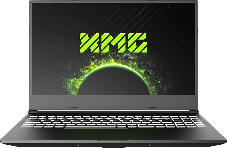 XMG CORE 15 AMD-M20zfr, Gaming Notebook mit 15.6 Zoll Display, Ryzen 5 Prozessor, 16 GB RAM, 1 TB mSSD, GeForce GTX 1650 Ti, Schwarz