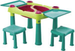 Möbelix Kinder-Gartentisch Creative B: 79 cm Grün Türkis