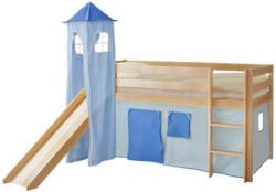 Spielbett Kasper 90x200 cm Hellblau