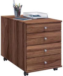 Rollcontainer Lona Maxi B: 42 cm Nussbaum
