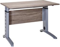 Schreibtisch in Eichefarben