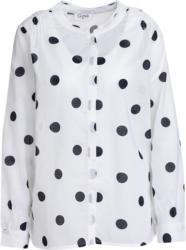 Damen Bluse mit großen Punkten (Nur online)