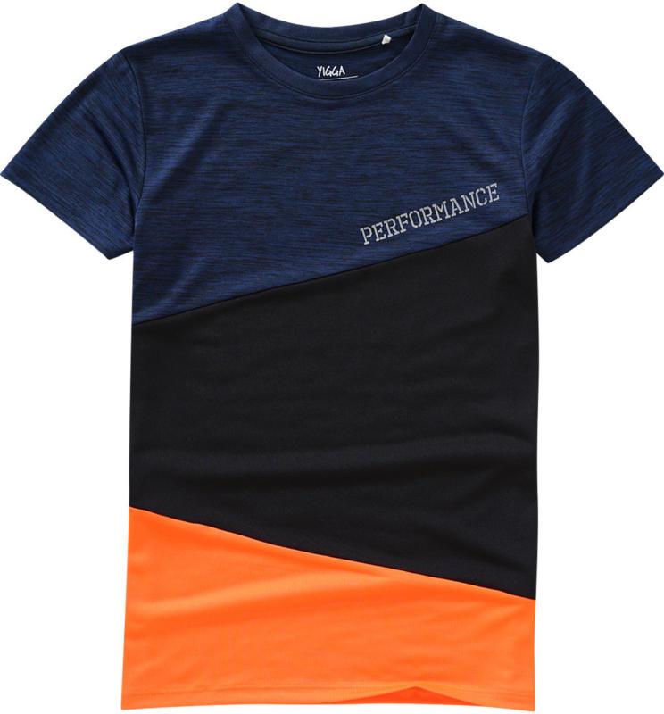 Jungen Sport-T-Shirt mit Colour Blocking (Nur online)