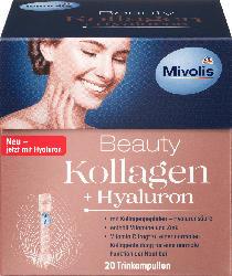 Mivolis Beauty Kollagen + Hyaluron, Trinkampullen, 20 St.