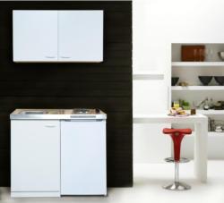 Miniküche Respekta B: 100 cm Weiß