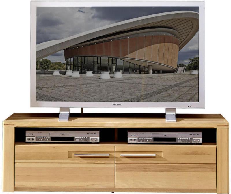 TV-Element aus Kernbuche 130/40/45 cm