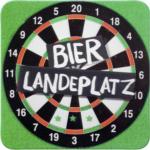 Möbelix Glasuntersetzer Bierlandeplatz
