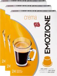 Capsule di caffè Crema Emozione, compatibili con le macchine Delizio