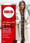NKD Wir sind weiter für Sie da - bis 08.03.2021