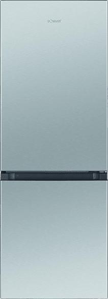 BOMANN KG 320.2  Kühlgefrierkombination (A++, 160 kWh/Jahr, 1430 mm hoch, Edelstahl)