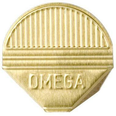 OMEGA Eckklammern 1000 / 22 gold 1000 Stk.
