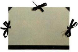 NEUTRAL Zeichenmappe Karton 665054 52x72cm grau