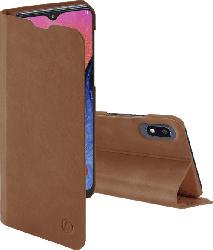 HAMA Guard Pro , Bookcover, Samsung, Galaxy A10, Kunstleder, Braun