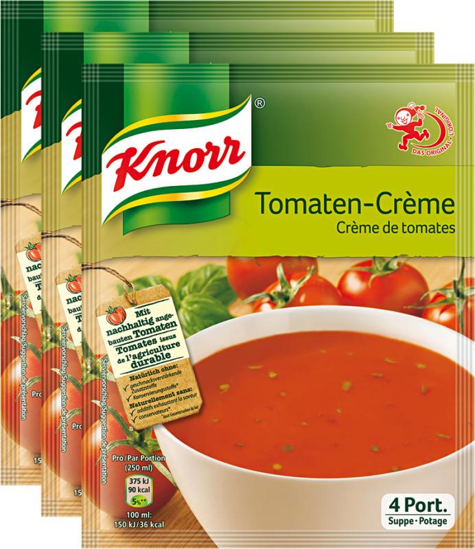 Velouté de tomates Knorr, 3 x 102 g