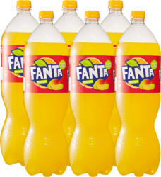 Fanta Mango, 6 x 1,5 Liter