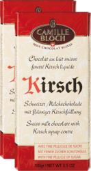 Camille Bloch Tafelschokolade, mit flüssiger Kirschfüllung 2 x 100 g
