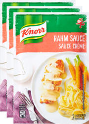Knorr Rahm Sauce , 3 x 33 g