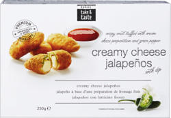 Finger food Rodag, Jalapeños, ripieni di formaggio fresco, 250 g