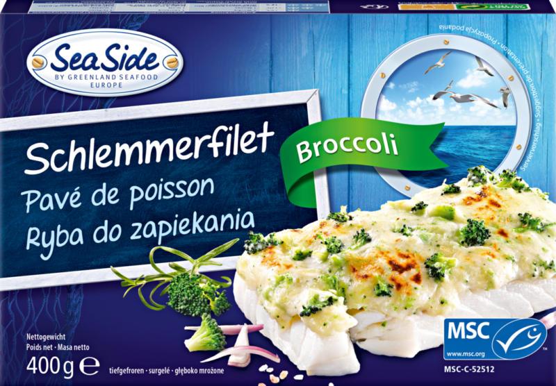 Sea Side Schlemmerfilet mit Broccoli, 400 g
