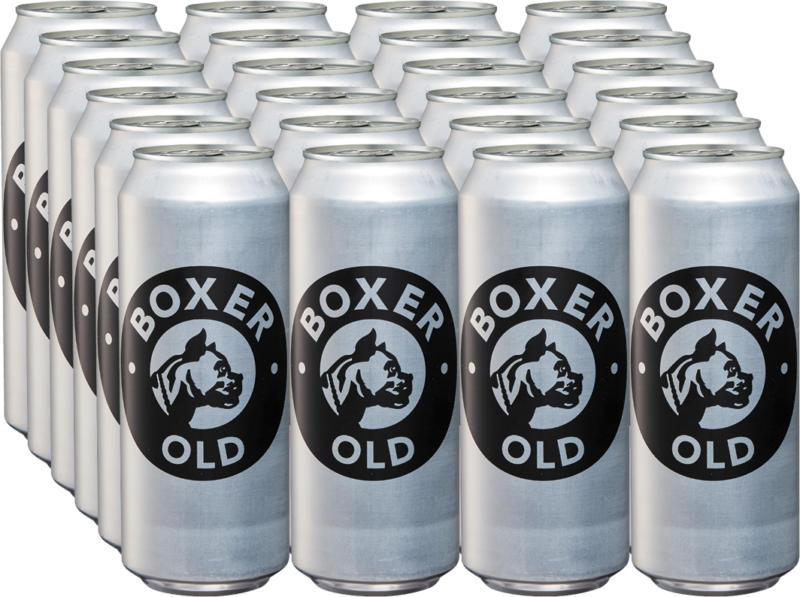 Boxer Bier Old , 24 x 50 cl