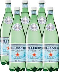 Acqua minerale San Pellegrino, gassata, 6 x 1,25 litri