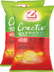 Zweifel Cractiv Chips Nature, 2 x 160 g
