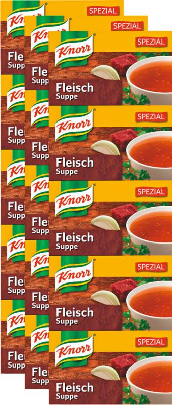 Knorr Bouillonwürfel, Fleisch spezial, 3 x 109 g