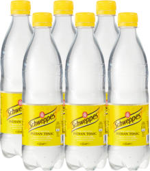 Schweppes Indian Tonic, 6 x 50 cl