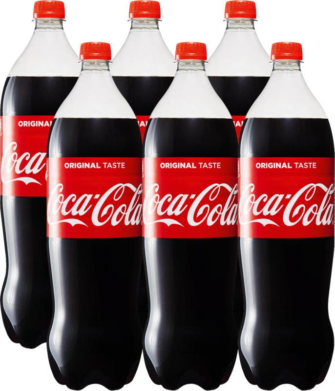 Coca-Cola Classic, 6 x 1,5 Liter