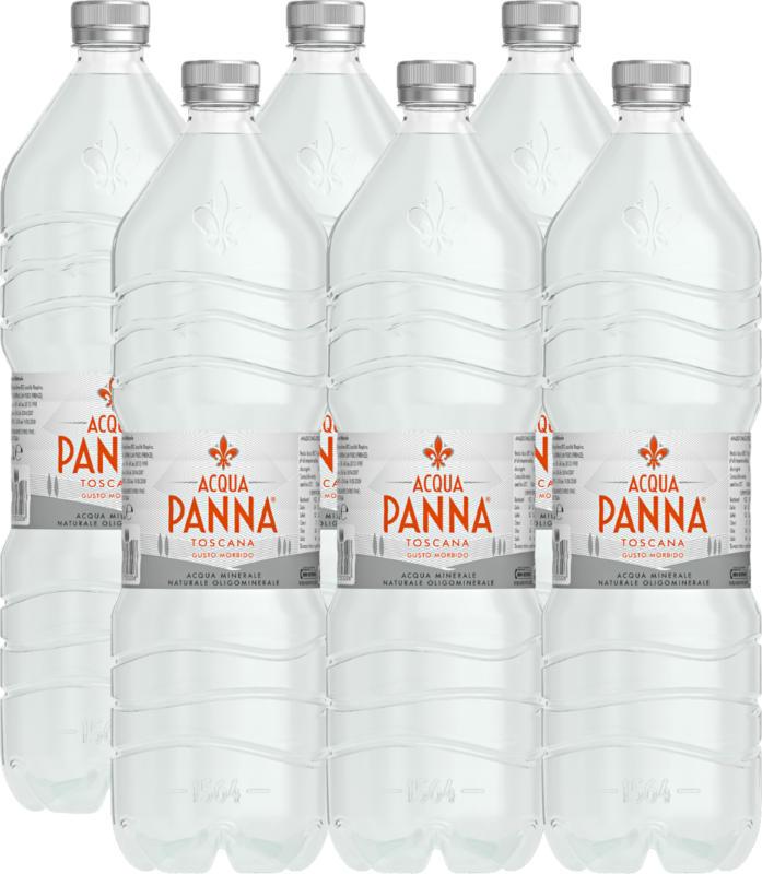 Acqua Panna Mineralwasser , ohne Kohlensäure, 6 x 1,5 Liter