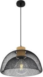 Hängeleuchte Vitiano H: 150 cm 1-Flammig, Metall/Kork