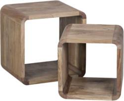 Satztisch in Holz 36/43/43 cm