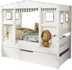 Möbelix Hausbett Lio Mini 80x160 cm Weiß