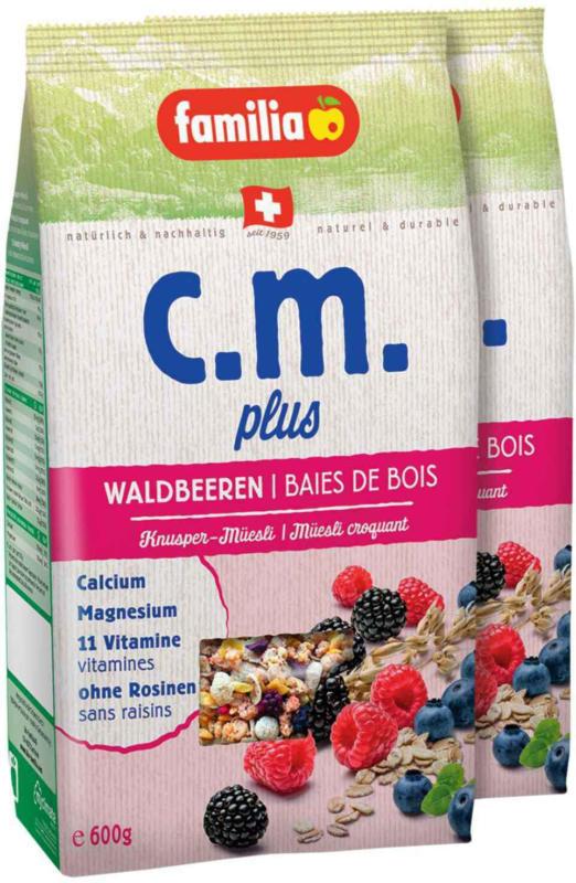 Familia C.M. Plus Waldbeeren 2 x 600 g -